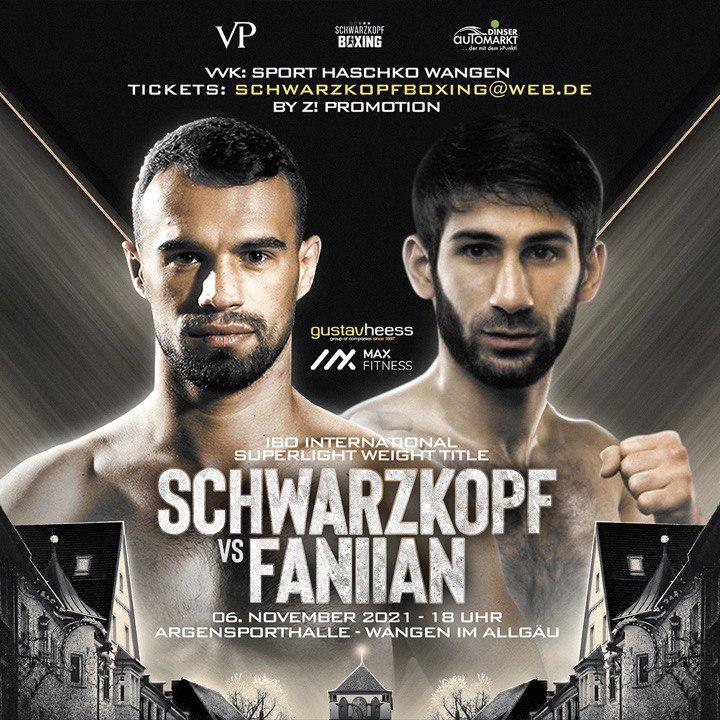 Арам Фаниян проведёт бой за титул IBO international